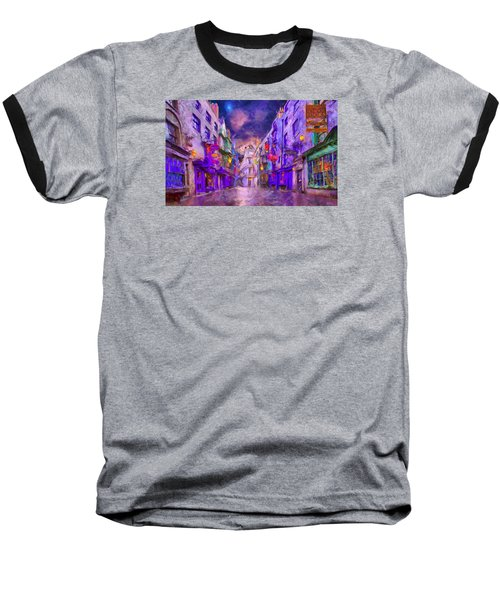 Wizard Mall Baseball T-Shirt