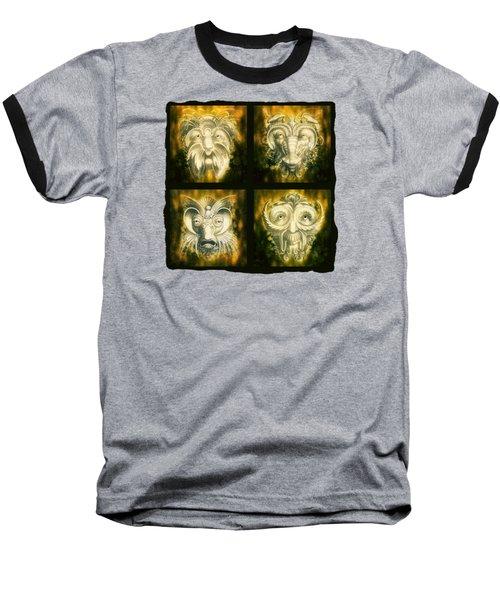 Wizard Rogue's Gallery Baseball T-Shirt