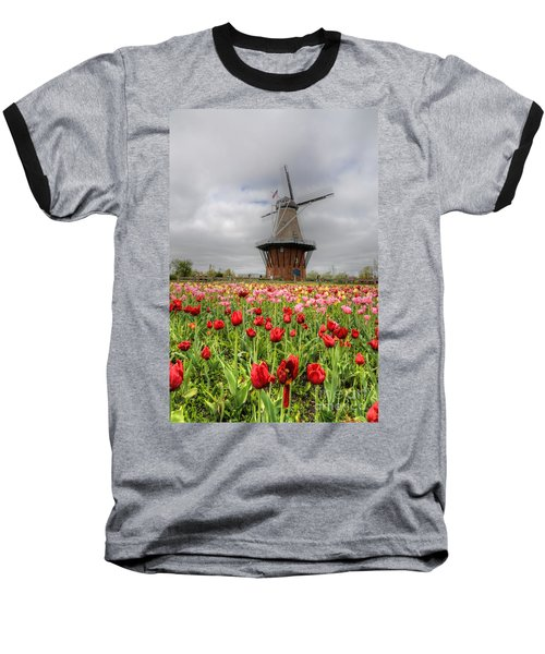 Baseball T-Shirt featuring the photograph Wjndmill Island 2 by Robert Pearson