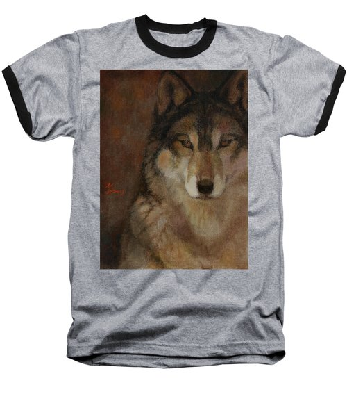 Wolf Head Baseball T-Shirt