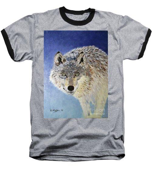 Wolf Study Baseball T-Shirt