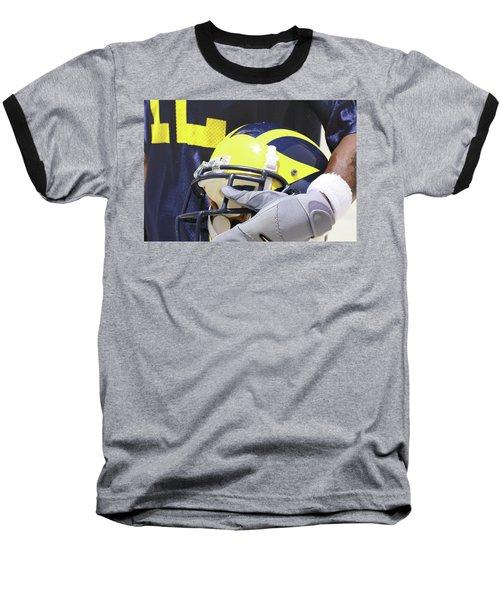 Wolverine Cradles Helmet Baseball T-Shirt
