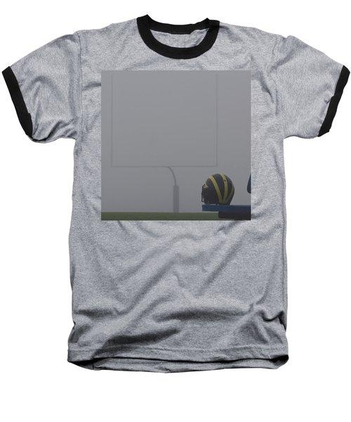 Wolverine Helmet In Heavy Morning Fog Baseball T-Shirt