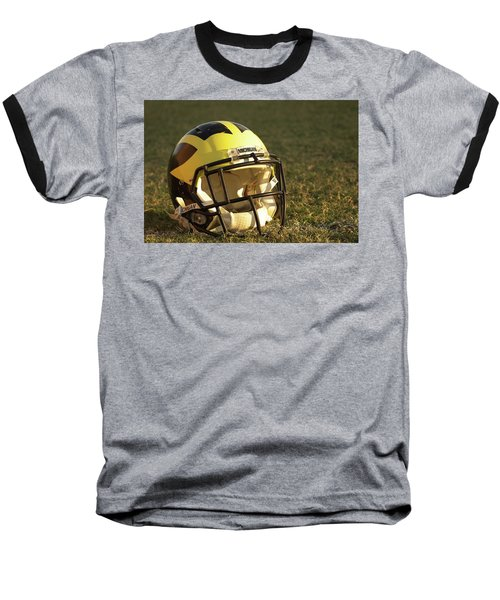 Wolverine Helmet In Morning Sunlight Baseball T-Shirt
