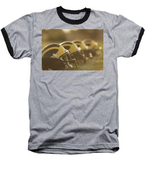 Wolverine Helmets Sparkling In Dawn Sunlight Baseball T-Shirt