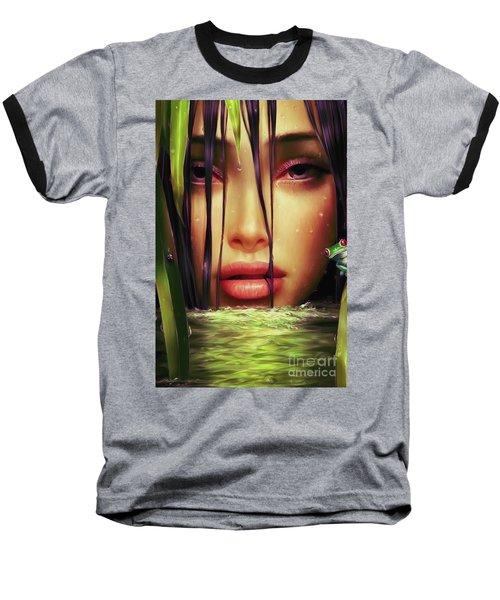 Woman In The Lake  Baseball T-Shirt