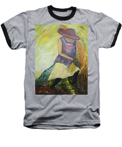 Woman Of Wheat Baseball T-Shirt