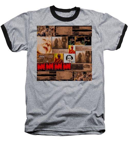 Woman Power Story Baseball T-Shirt