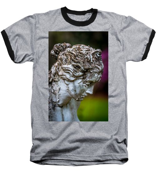 Woman Statue Head Baseball T-Shirt
