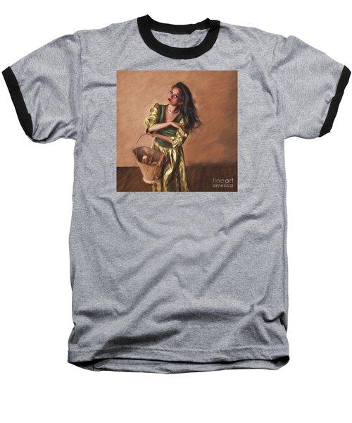 Woman With Pail  ... Baseball T-Shirt