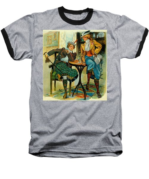 Woman's Club 1899 Baseball T-Shirt by Padre Art