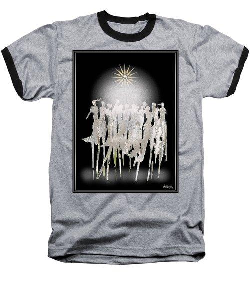 Women Chanting - Spirit Dance Baseball T-Shirt