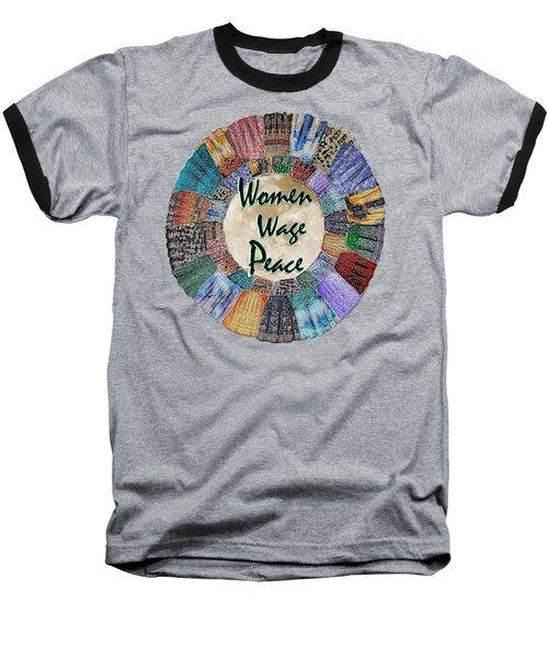 Women Wage Peace Baseball T-Shirt