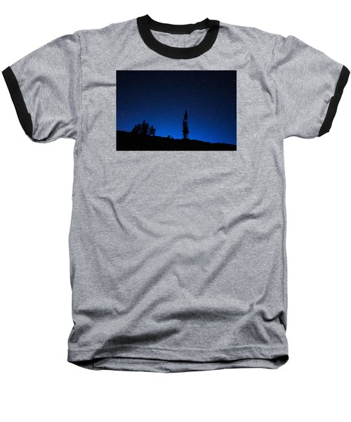 Wonder In Wyoming Baseball T-Shirt by Serge Skiba