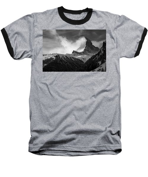 Wonder Of The Alps Baseball T-Shirt