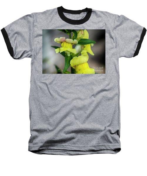 Wonderful Nature - Yellow Antirrhinum Baseball T-Shirt