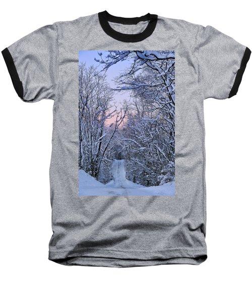Wonderland Road Baseball T-Shirt