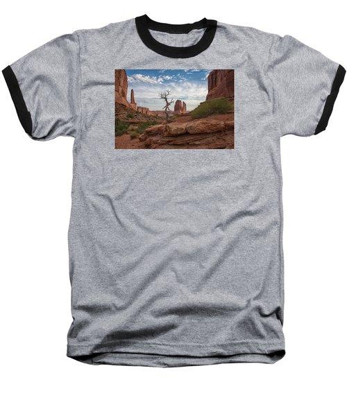 Wonders Along Park Avenue Baseball T-Shirt by Darlene Bushue