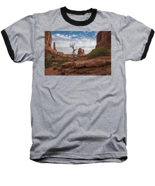 Wonders Along Park Avenue Baseball T-Shirt