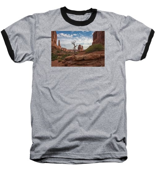 Wonders Along Park Avenue Baseball T-Shirt