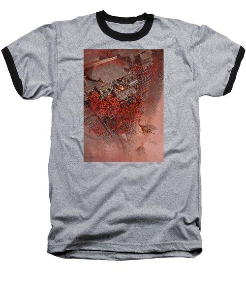 Baseball T-Shirt featuring the digital art Wonders Liyomizu by Te Hu