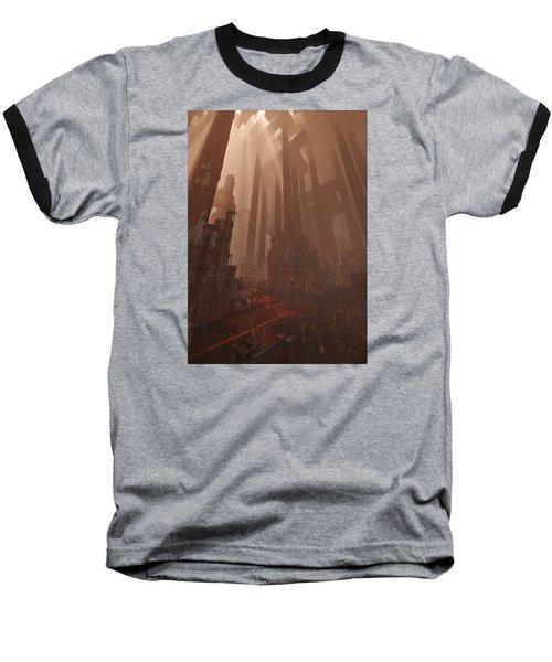 Wonders_temple Of Artmeis Baseball T-Shirt