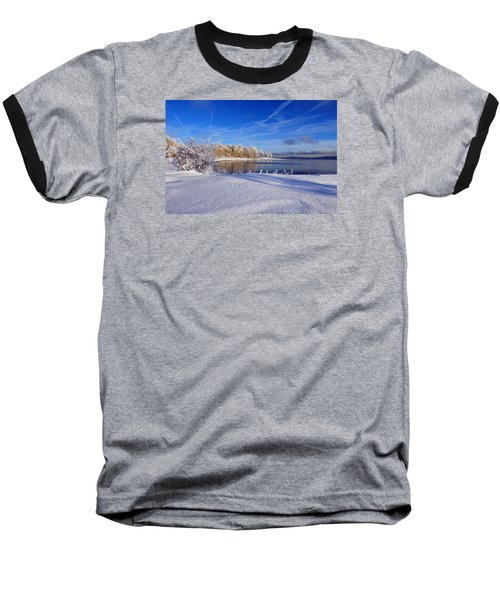 Wondrous Winter Baseball T-Shirt by Randi Grace Nilsberg