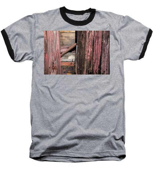 Baseball T-Shirt featuring the photograph Wood And Rod by Karol Livote