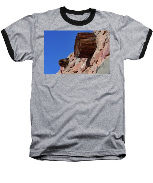 Wood And Stone Baseball T-Shirt