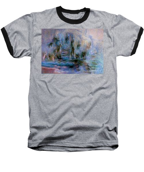 Wood Art  Lost In Time Baseball T-Shirt by Sherri's Of Palm Springs