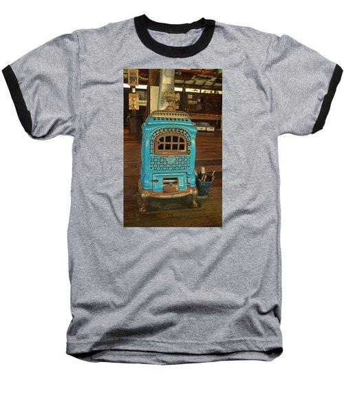 Wood Burning Heater Baseball T-Shirt