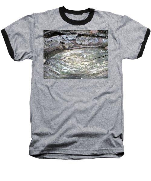 Wood Knot Baseball T-Shirt by Michele Wilson