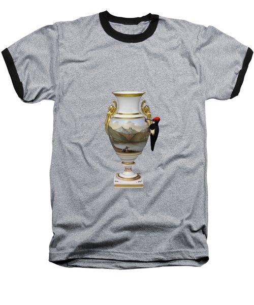Wood Pecker's Dream Baseball T-Shirt by Keshava Shukla