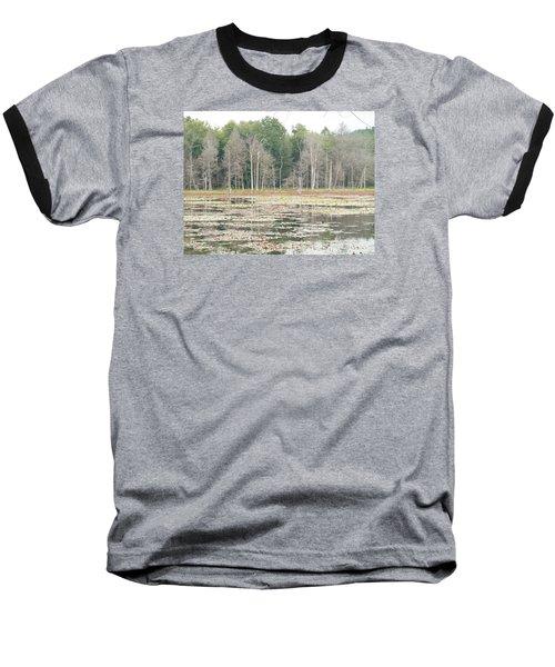 Woodbourne Swamp Baseball T-Shirt by Christine Lathrop