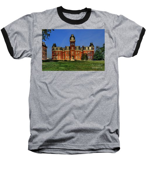 Woodburn Hall In Morning Baseball T-Shirt by Dan Friend