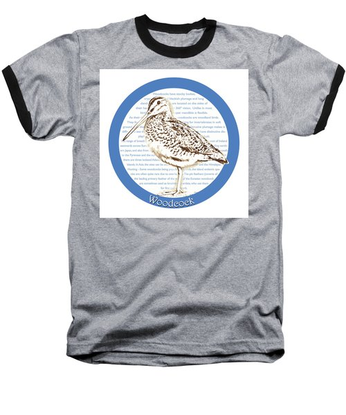 Woodcock Baseball T-Shirt by Greg Joens