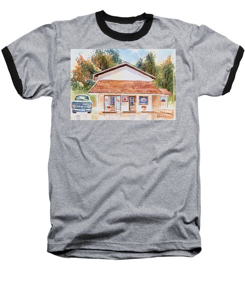 Woodcock Insurance In Watercolor  W406 Baseball T-Shirt