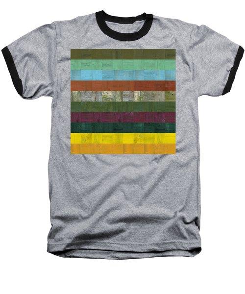 Wooden Abstract Lll Baseball T-Shirt