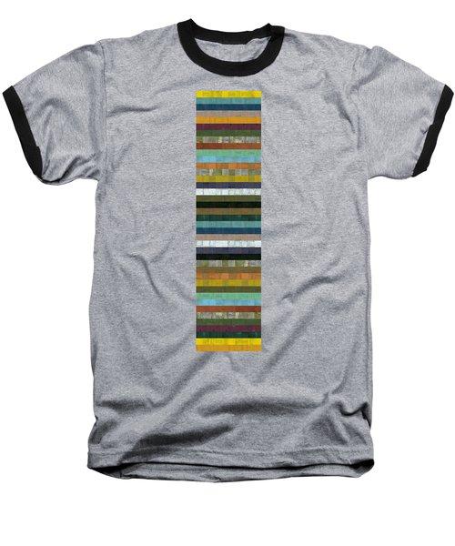 Wooden Abstract Xl Baseball T-Shirt