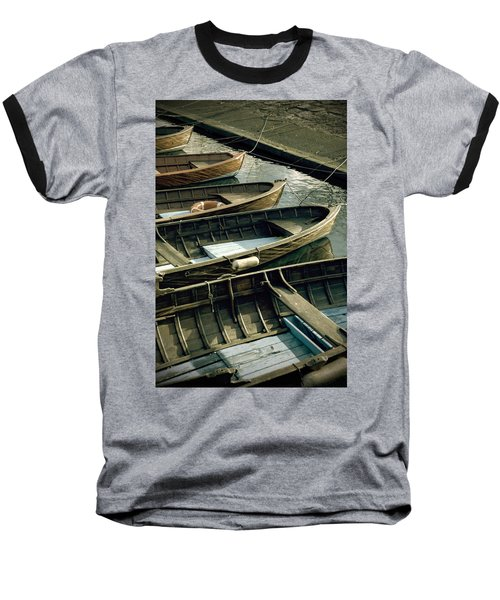 Wooden Boats Baseball T-Shirt