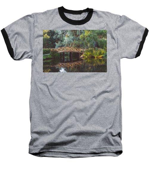 Baseball T-Shirt featuring the photograph Wooden Bridge by Ari Salmela
