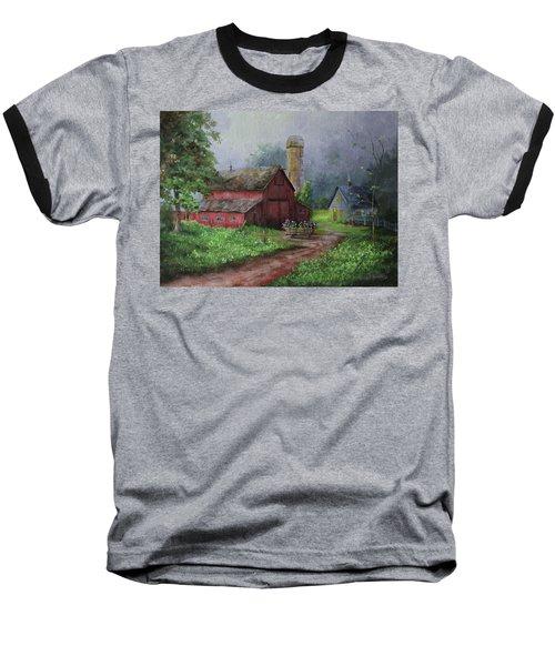 Wooden Cart Baseball T-Shirt