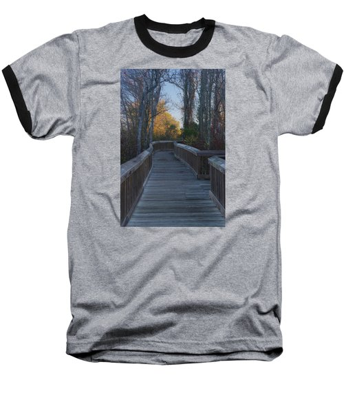 Wooden Path Baseball T-Shirt