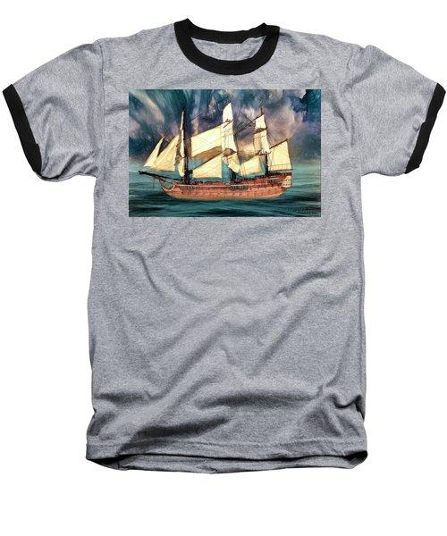 Wooden Ship Baseball T-Shirt