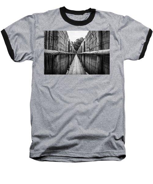 Wooden Walkway. Baseball T-Shirt