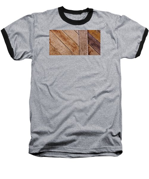 Baseball T-Shirt featuring the photograph Wooden Window Shutters by Werner Lehmann