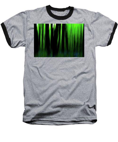 Woodland Abstract Iv Baseball T-Shirt