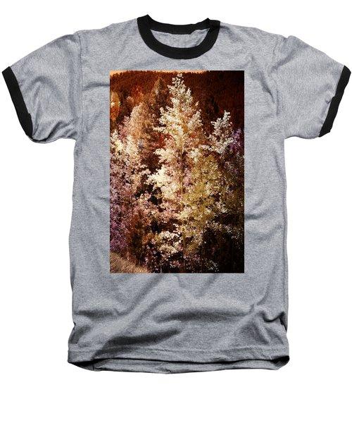 Woodland Beauty Baseball T-Shirt by Joseph Frank Baraba