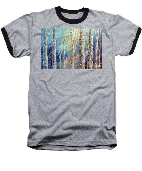 Baseball T-Shirt featuring the painting Woodland Breezes by Tatiana Iliina