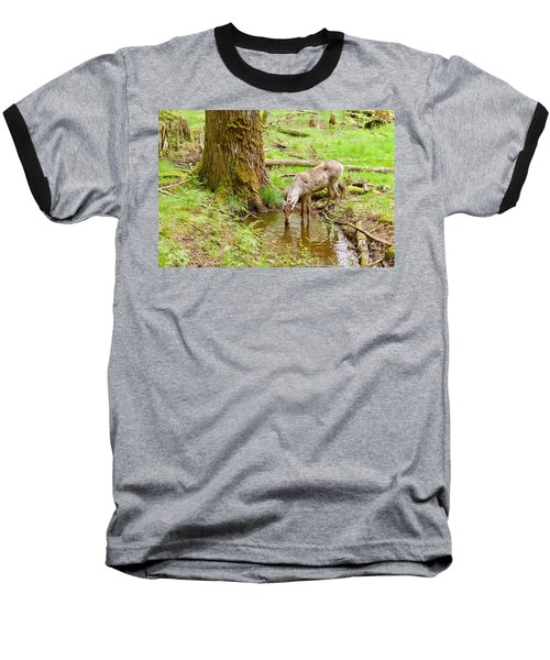 Woodland Caribou Baseball T-Shirt